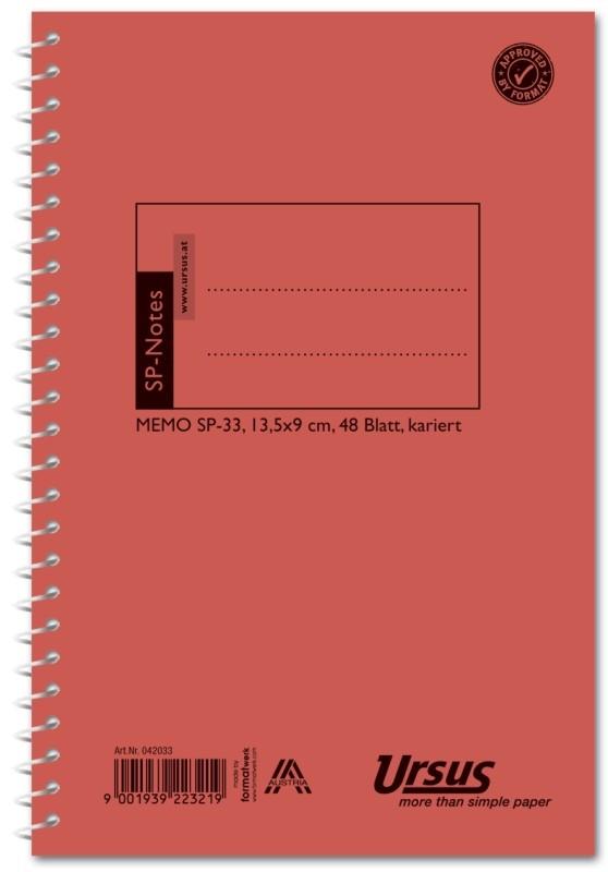Spiralheft Sp33 48 Bl Kariert