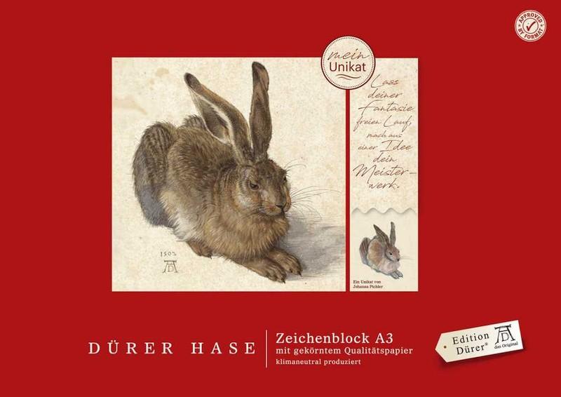 Zeichenblock Dürer Hase A3