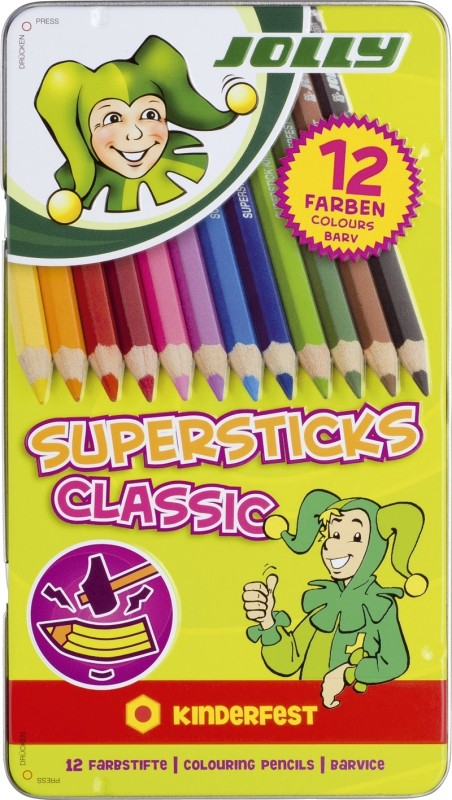 Jolly Farbstifte Supersticks Classic