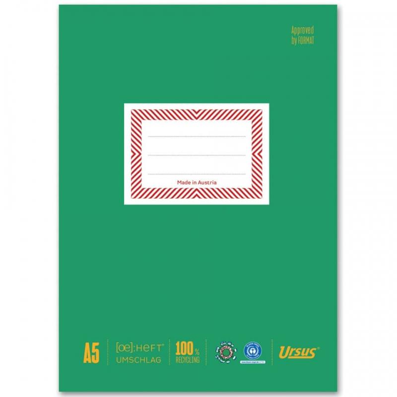 Hefthülle Umweltschutz Papier A5 hoch 10 Stück