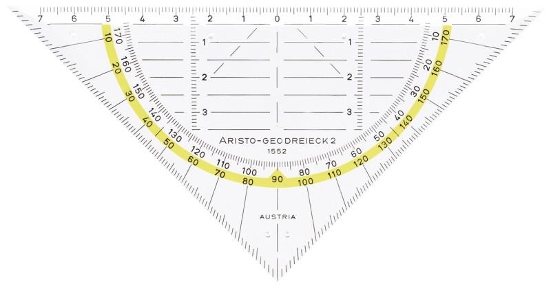 Aristo Geo-Dreieck 1552 ohne Griff