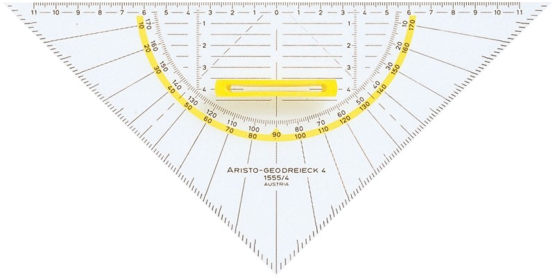 Aristo Geo-Dreieck 25cm mit Griff