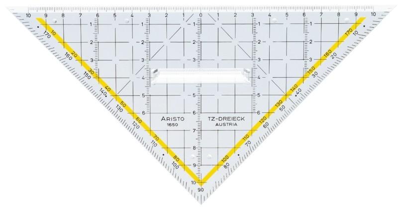 Aristo TZ-Dreieck 22.5cm 1650/3