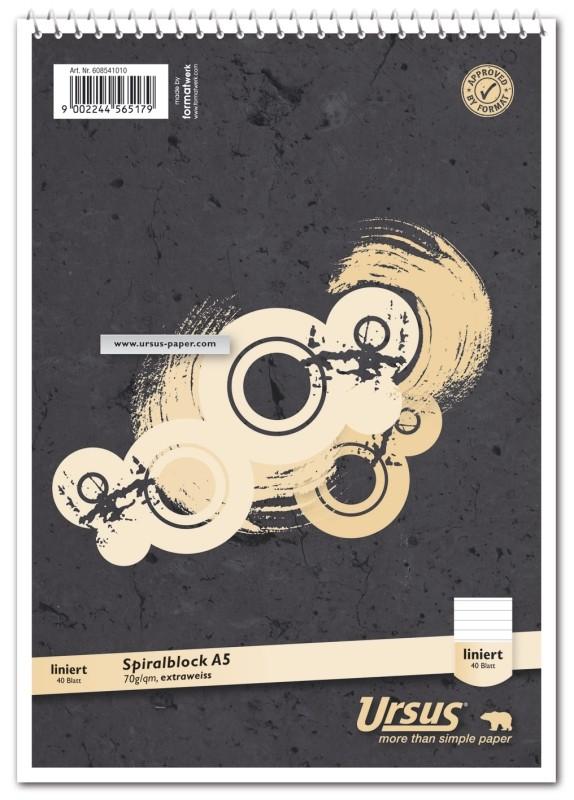 Ursus Spiralblock A5