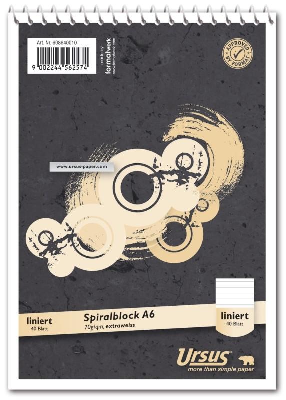 Ursus Spiralblock A6
