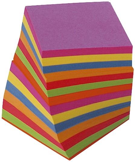 Folia Zettelbox Nachfüllung färbig