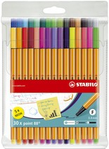 Fineliner Stabilo Point 88 30er Set 0,4