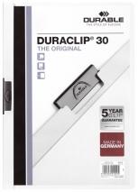 Clip-Mappe Durable 2200 Duraclip für 30 Blatt