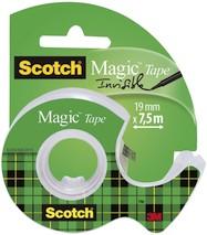 Klebeband Scotch Magic 19mm 7,5m mit Abroller