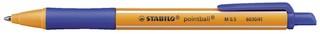 Druckkugelschreiber Stabilo Pointball M blau