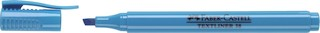 Textmarker Faber Castell Strichstärke 1-4 mm blau
