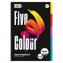 Collegeblock A4 100 Blatt Register