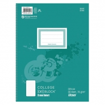 Collegeblock A4 80 Blatt