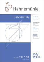 Transparentpapierblock A4 110/115 transp
