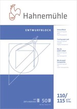 Transparentpapierblock A3 110/115 transp