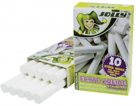 Jolly Tafelkreide 10 Stück weiß