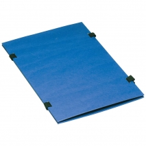 Bändermappe A4 blau