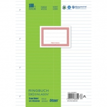 Ringbucheinlage A4 100 Blatt