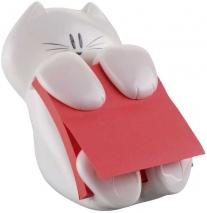 Haftnotiz Dispenser Katze