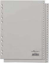 Ordnerregister 1-52 PP A4
