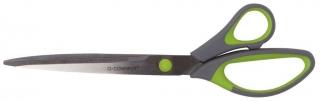 Schere 25,5cm blau-schwarz