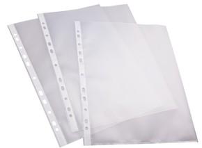 Klarsichthülle genarbt transparent A4 100 Stück