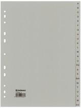 Ordnerregister 24-tlg A-Z grau