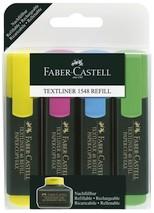 Faber Castell Textmarker 48 Refill Etui
