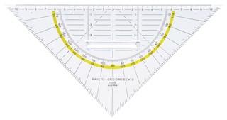 Aristo Geo-Dreieck 22 x 5cm mit Griff