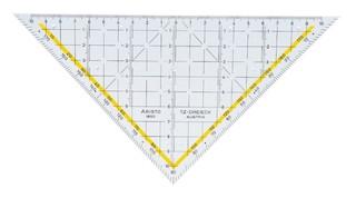 Aristo TZ-Dreieck 22 x 5cm ohne Griff