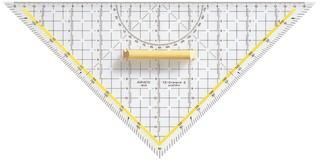 Aristo TZ-Dreieck 32.5cm mit Griff