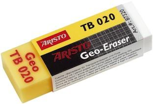 Aristo Plastikradierer Geo TB020