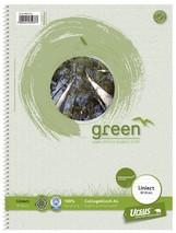Ursus Collegeblock Green A4, 80 Blatt