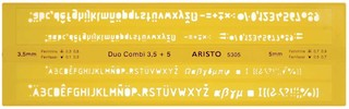 Aristo Schriftschablone