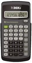 TEXAS Instruments TI-30 Xa