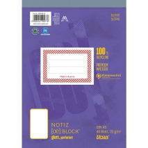 Format-X (Ursus) Notizblock A5 48 Blatt